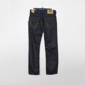 True Religion Jeans - True Religion | Mens Straight Flap Jeans 32x32